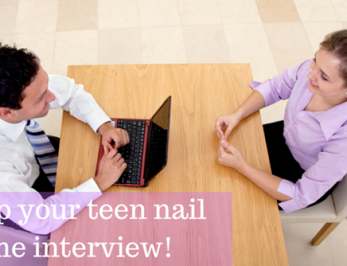 How to Help Your Teen Nail the Interview!