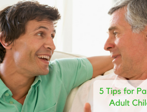 Five Tips for Parenting Adult Children